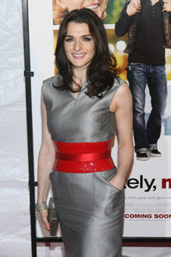 Actress Rachel Weisz at the N.Y. premiere of &quot;Definitely, Maybe.&quot;